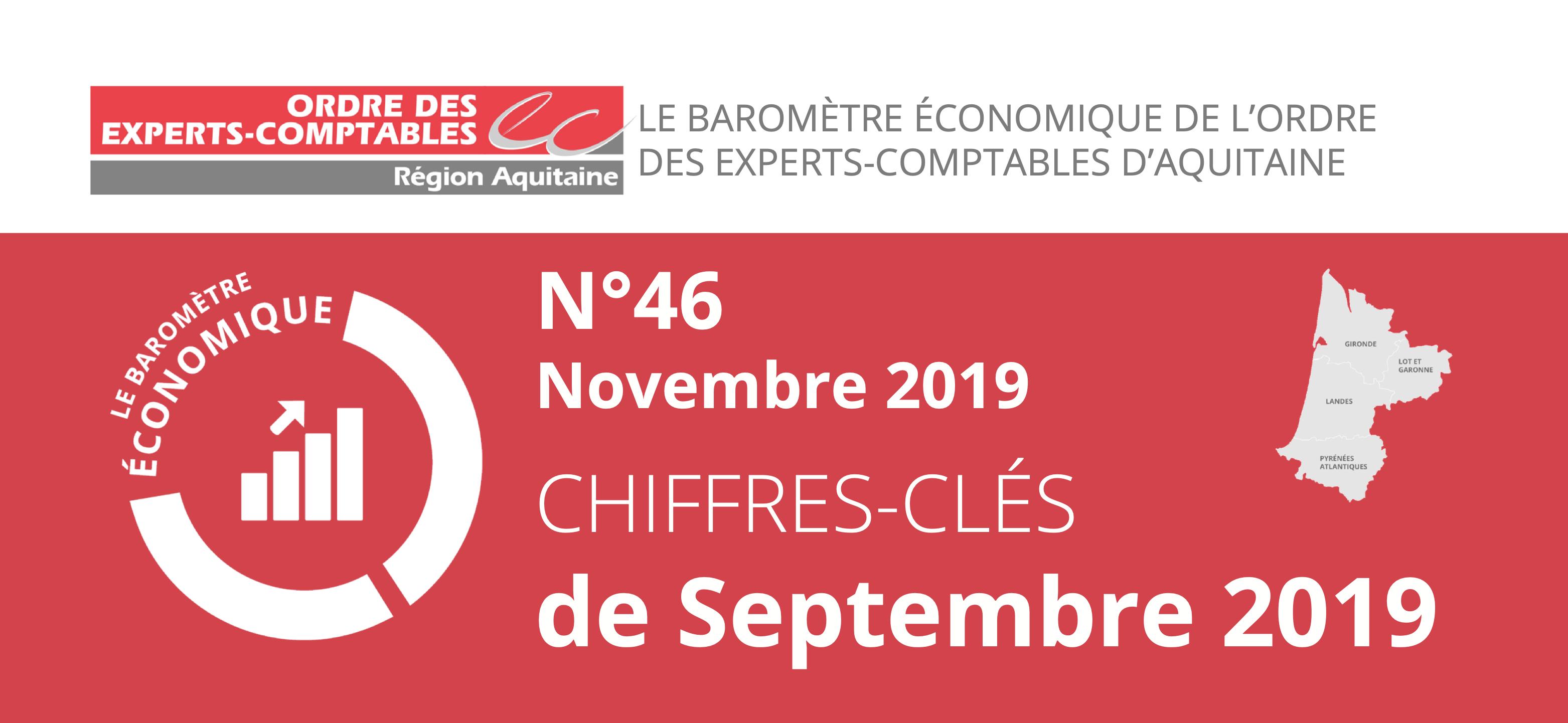 Baromètre économique OEC Aquitaine Septembre 2019