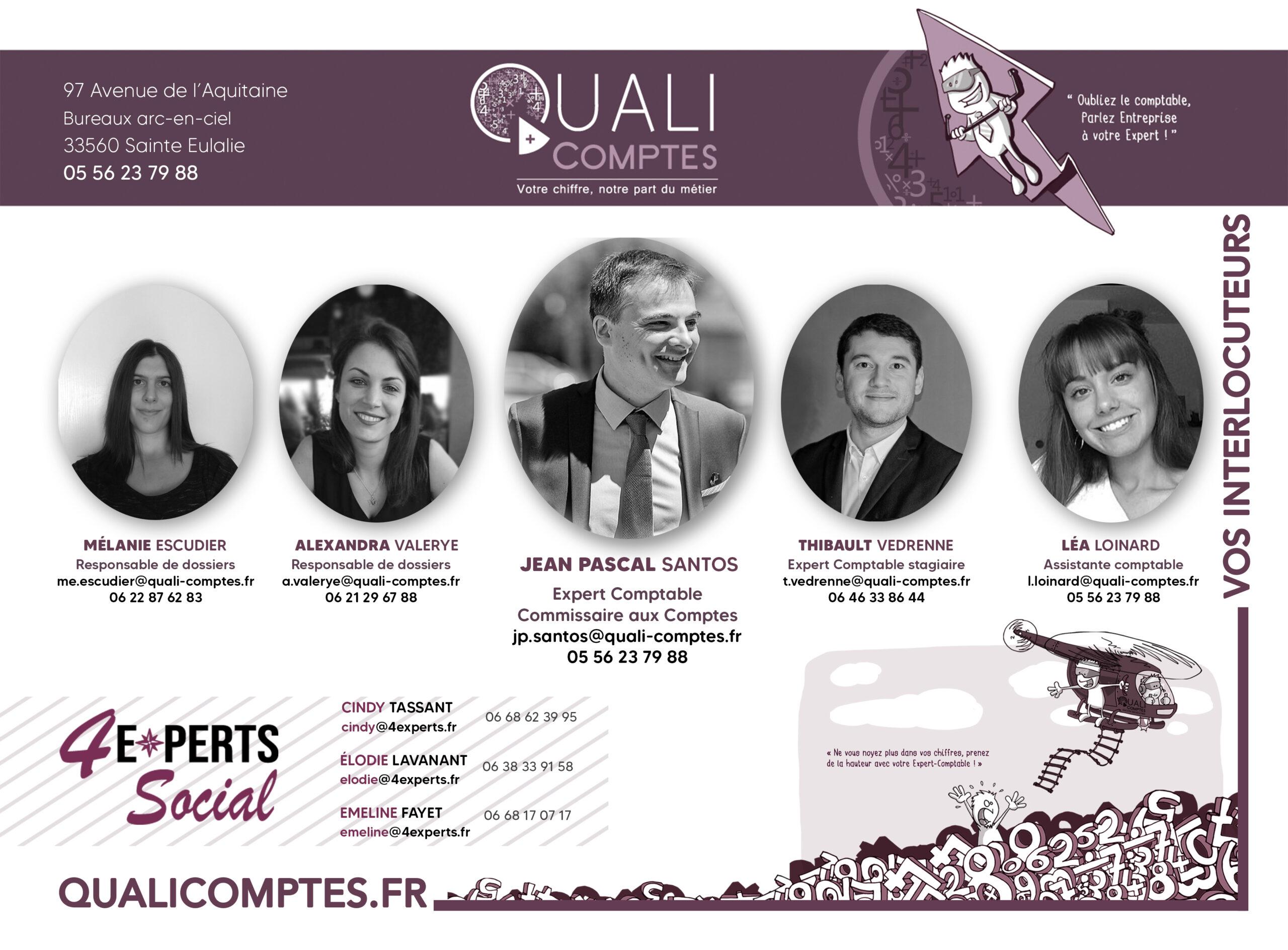 Trombinoscope Quali Comptes - 2021 - cover